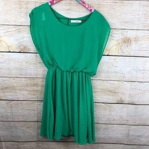 Green LUSH dress size M // N29
